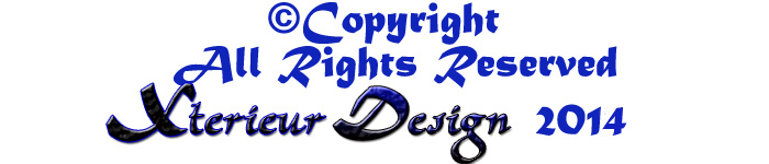 Copyright Xterieur Design